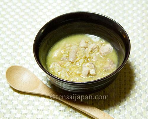 ダイエット健康オートミールアジアンお粥レシピ